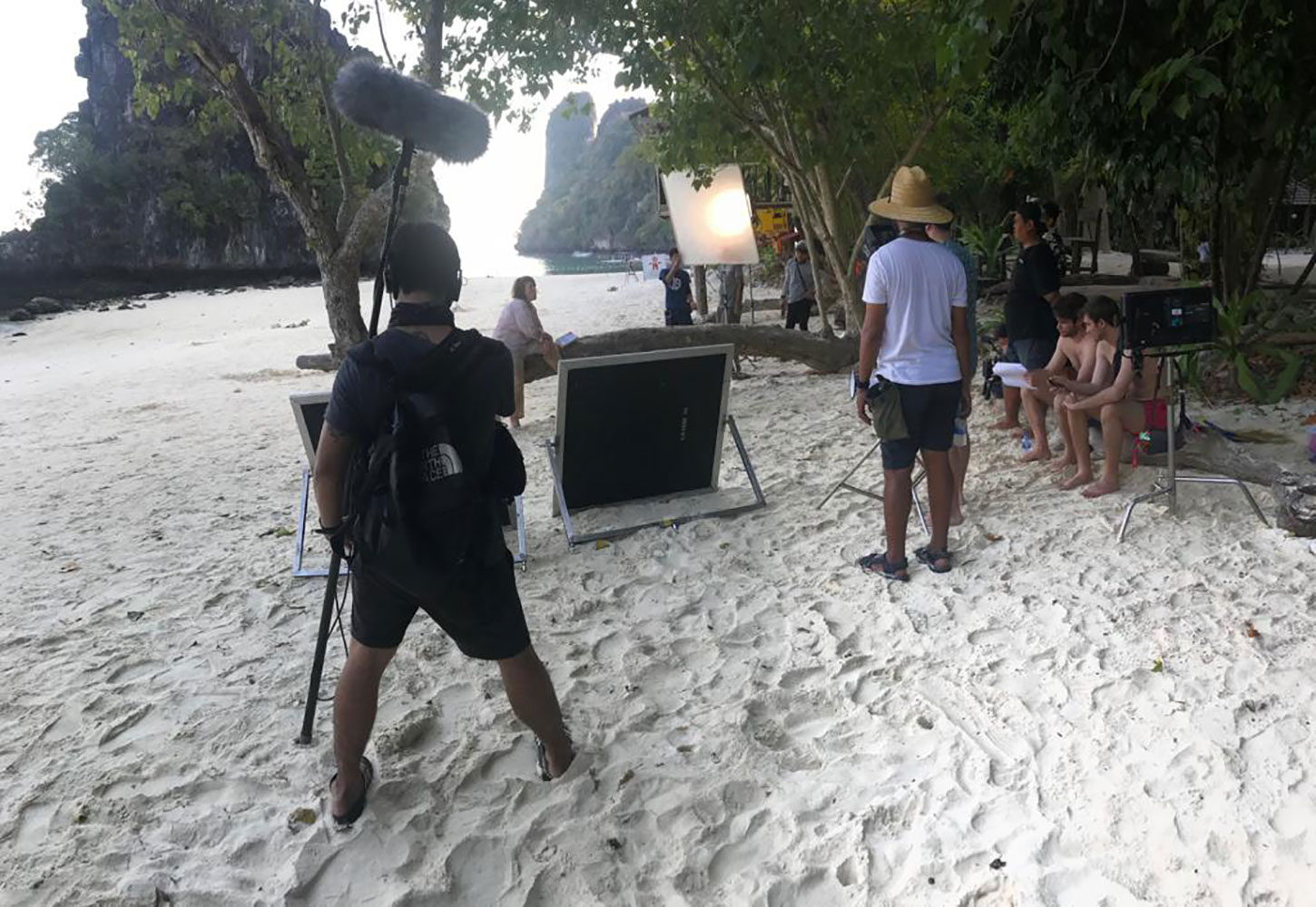 Behind the scenes TVC shoot in Bangkok Thailand