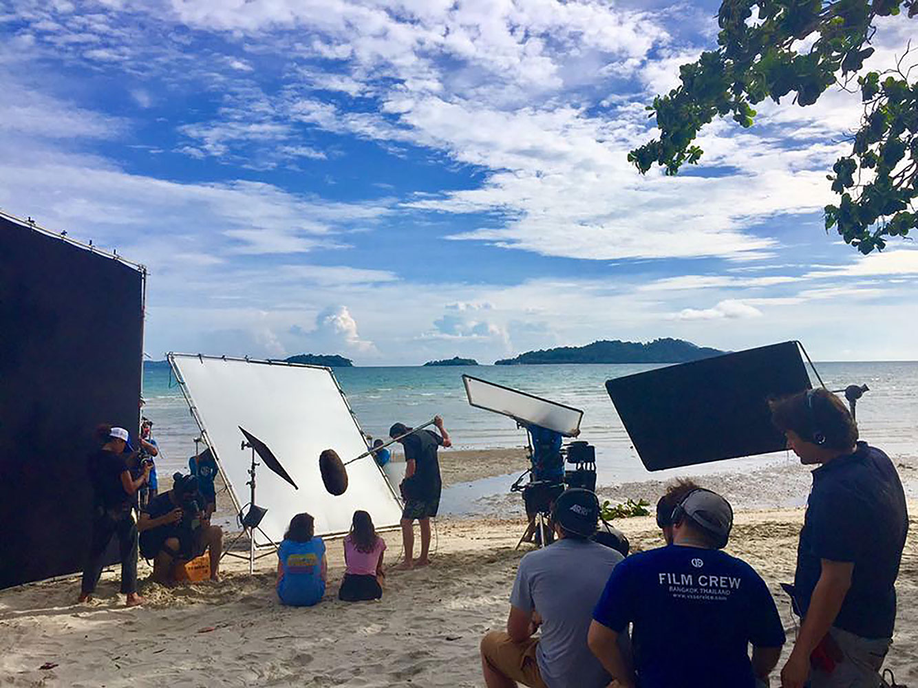 Behind the scenes feature film in Thailand, production services by Eastness
