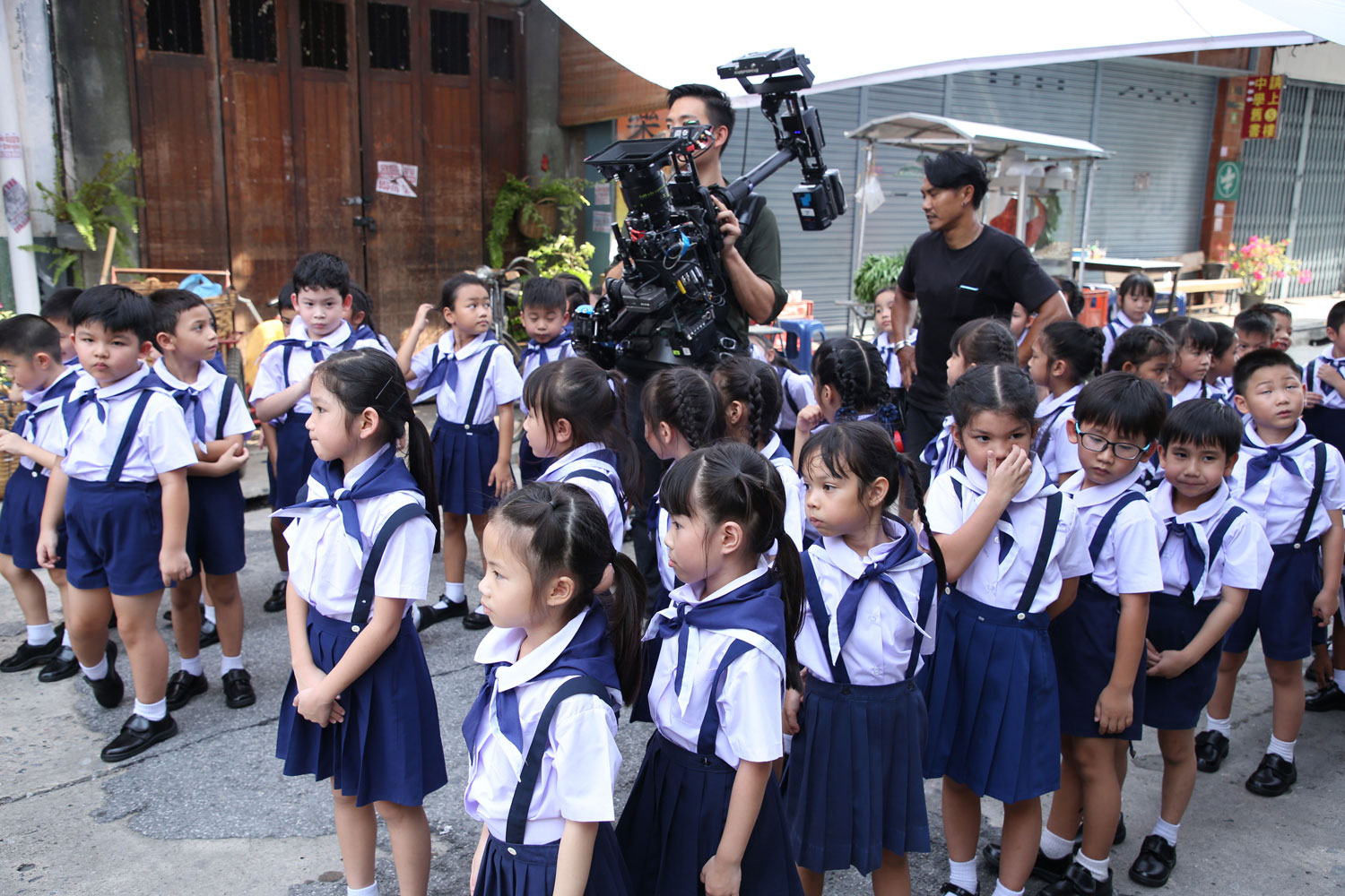 Behind the scenes Samsonite TVC in Thailand, production services by Eastness
