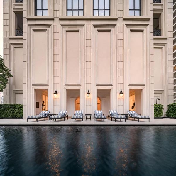 Luxury apartment filming location in Thailand