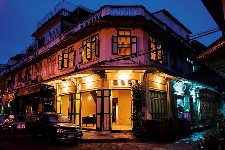 Bangkok Chinatown at night filming location