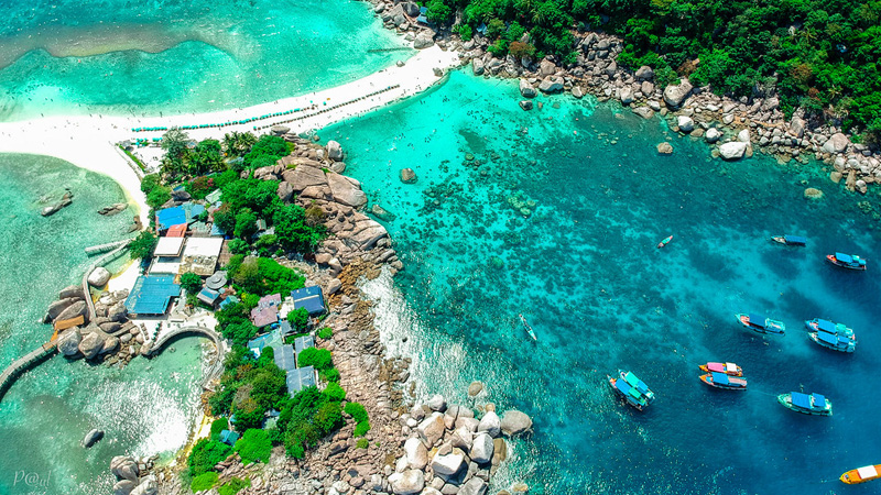 Beach seaside filming location in Thailand