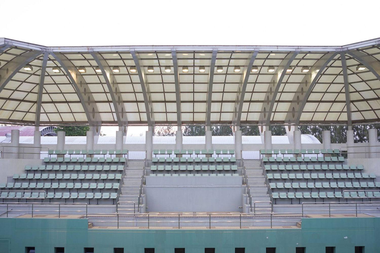 Sports stadium in Bangkok Thailand
