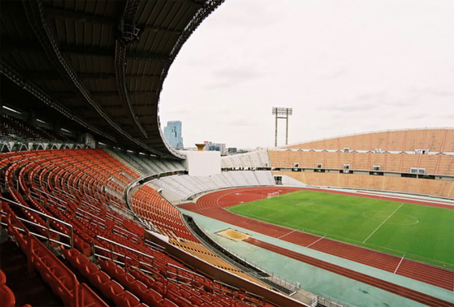 Sports stadium filming location in Bangkok Thailand