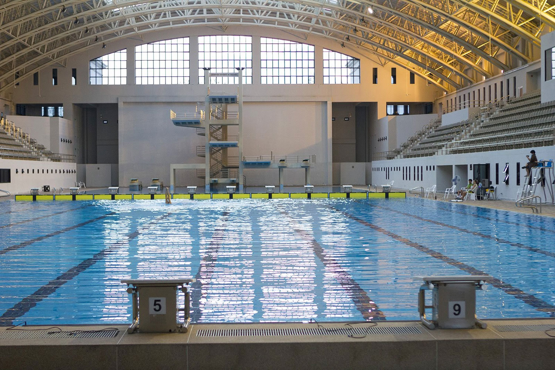 Swimming pool filming location in Bangkok Thailand