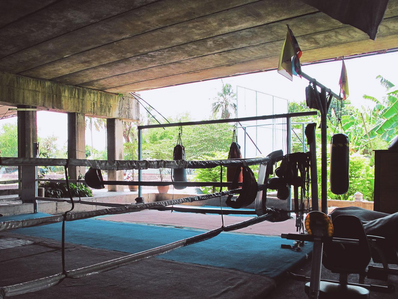 Muay Thai boxing stadium filming location in Bangkok Thailand