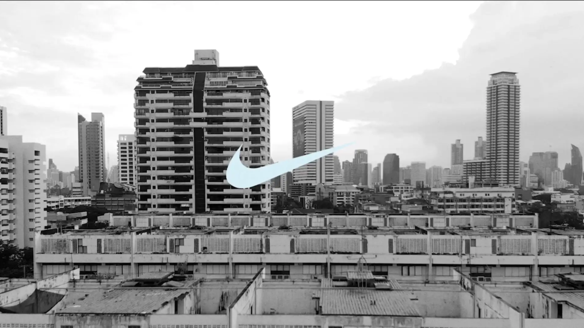 Nike x Darkle TVC shoot in Bangkok Thailand, production services by Eastness