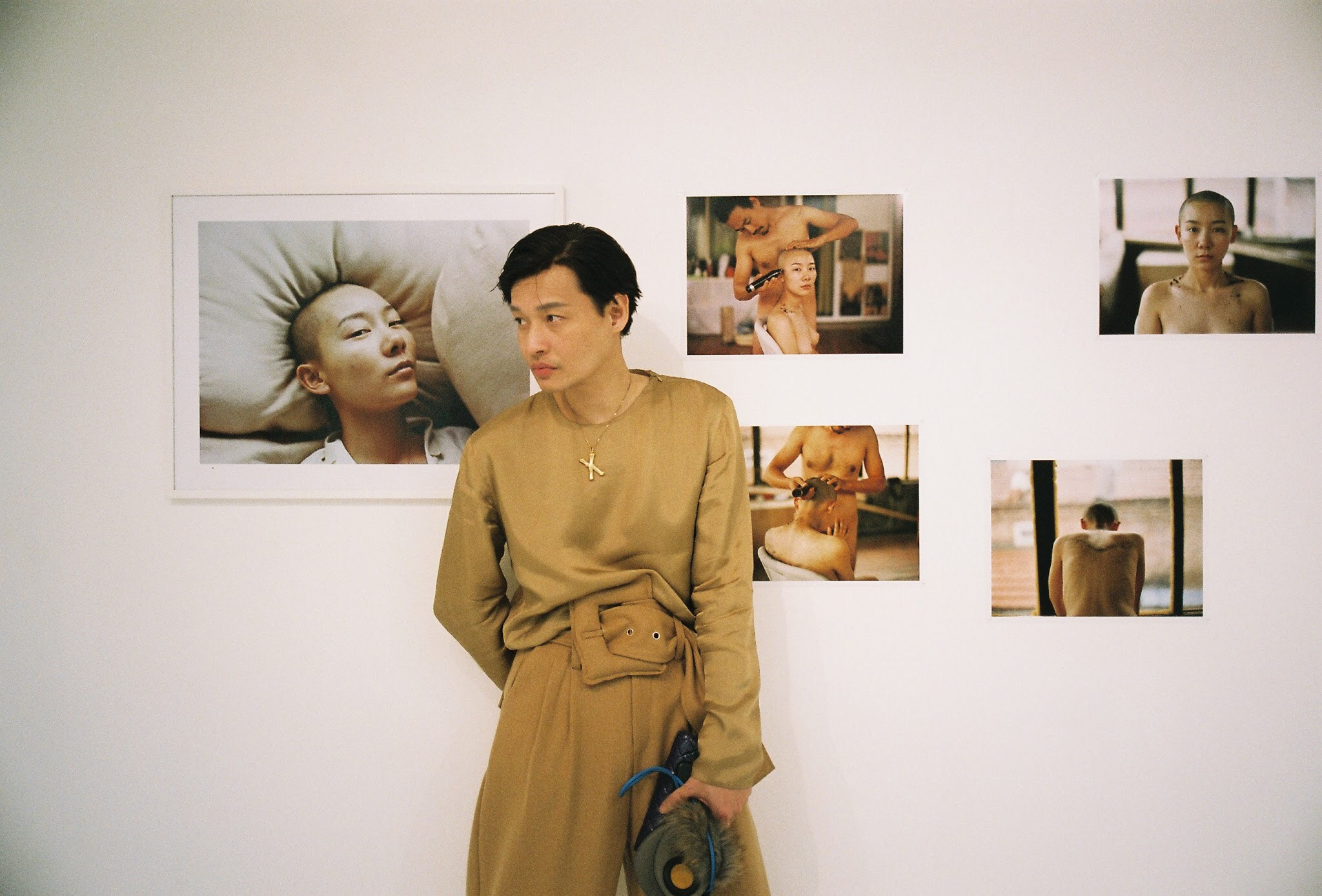 Behind the scenes at Luo Yang photo exhibition in Bangkok Thailand