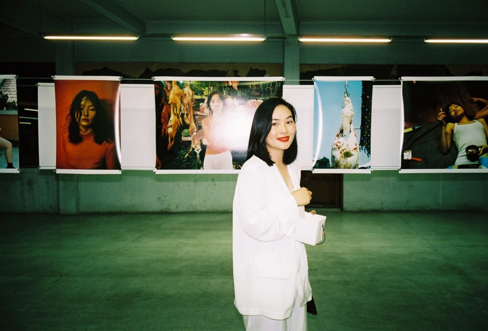 Behind the scenes at Luo Yang photo exhibition in Bangkok Thailand